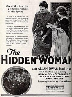 <i>The Hidden Woman</i> 1922 film by Allan Dwan