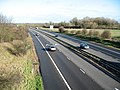 The M11 from Newton Road bridge, Whittlesford, Cambs - geograph.org.uk - 355393.jpg