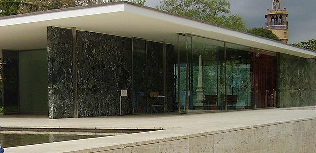 Garage Interior Design Makeover Mies van der Rohe Style