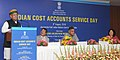 The Minister of State for Finance and Corporate Affairs, Shri Arjun Ram Meghwal addressing at the inauguration of the 2nd Indian Cost Accounts Service day function, in New Delhi.jpg