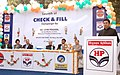 """The Minister of State for Petroleum & Natural Gas Shri Jitin Prasada addressing at the launching of the """"Check & Fill"""" Campaign for ensuring consumer involvement towards delivery of pure and full quantity of petroleum.jpg"""
