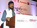 The Minister of State for Social Justice & Empowerment, Shri Ramdas Athawale addressing at the India CSR Leadership Summit, in Mumbai on May 26, 2017.jpg