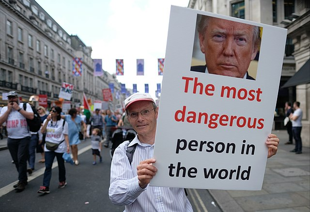 Trump -- The Most Dangerous Person in the World