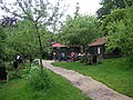 The Orchard Tea Garden in Grantchester May 2007.JPG