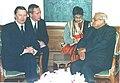 The Russian Defence Minister Mr. Sergei Ivanov calls on the Prime Minister Shri Atal Bihari Vajpayee in New Delhi on January 20, 2004.jpg