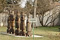 The Seven Chieftains and Grand Prince Árpád Sculpture Group 2019 sie view with street sign.jpg