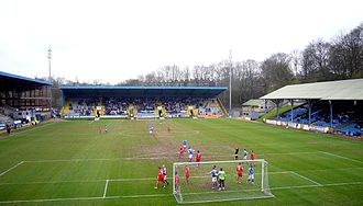 F.C. Halifax Town - The Shay, the home ground of Halifax Town