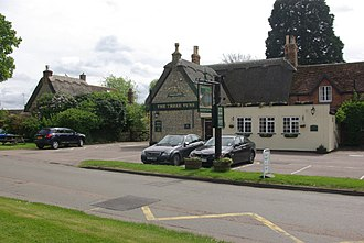 Biddenham - Image: The Three Tuns, Biddenham geograph.org.uk 1292092