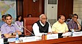 The Union Minister for Labour and Employment, Shri Mallikarjun Kharge addressing at the inauguration of Quarterly News Letter 'Shram Sansar' of Mo Labour & Employment, in New Delhi on May 01, 2012.jpg