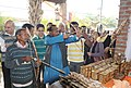 The Union Minister for Tribal Affairs, Shri Jual Oram inaugurated the National Tribal Crafts 'Mela Aadishilp', in New Delhi on November 26, 2014 (2).jpg