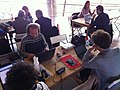 The Value of FreeKnowledge-Wikipedia Workshop and debate at CCCB (15).JPG