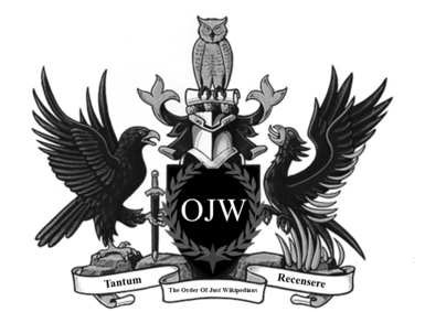 The order of just wikipedians achievement of arms.png