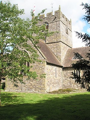 John Burley - Holy Trinity church, Wistanstow, where Burley used force to expel an incumbent he had previously helped install.