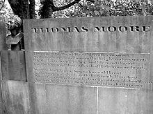 Denkmal für Thomas Moore in Meeting Of The Waters (Quelle: Wikimedia)