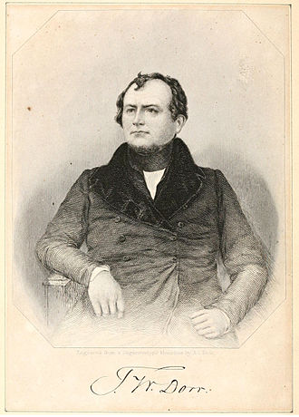 Dorr Rebellion - Thomas W. Dorr from an 1844 book's frontispiece