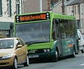 Thomas of Rhondda bus Optare Solo, Rail Linc 902, Maerdy, 11 May 2011.jpg