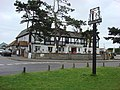 Thorpeness village sign and Thorpeness Brasserie and Emporium - geograph.org.uk - 942893.jpg