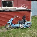 Three-wheeled motorcycle in Nikkaluokta.JPG