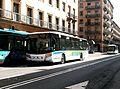 Three buses in Salamanca - Scania Carsa Versus - 2012.JPG