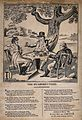 Three men carousing beneath a mulberry tree, with a poem acc Wellcome V0019461.jpg