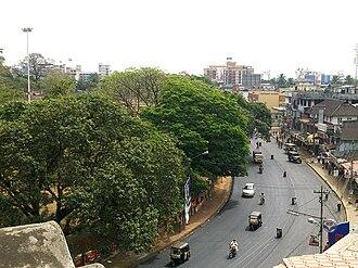 Sakthan Thampuran - A bird's view of Swaraj Round which was built by Sakthan Thampuran