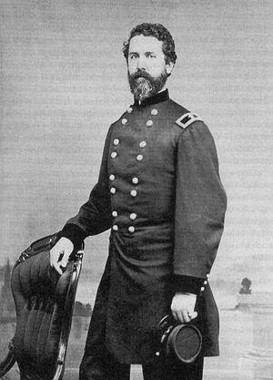 John C. Tidball - Brevet Brigadier General John C. Tidball, 1865. USMA Archives image