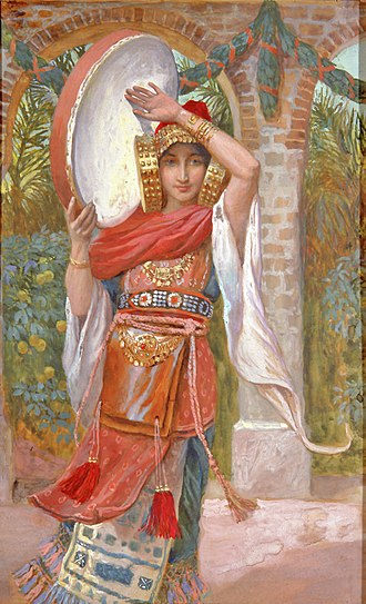 Jephthah's daughter - James Tissot, Jephthah's Daughter, c. 1896-1902.