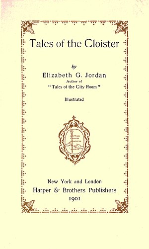 Title page--Tales of the cloister.jpg