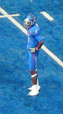 06dcf739dda 2009 Boise State Broncos football team - Titus Young was named WAC special  teams player of