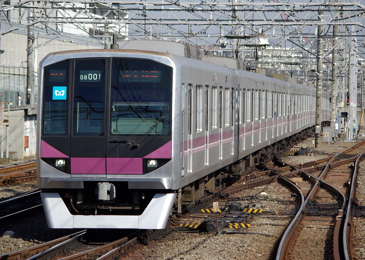 Tokyo Metro 08 Series Wikipedia