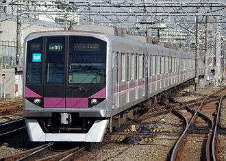 Tokyo Metro 08 series - A Hanzomon Line 08 series