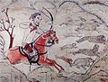 Tomb of Northern Qi Dynasty in Jiuyuangang, Xinzhou, Mural 16.jpg