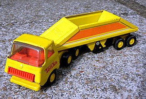 Tonka - 1978 model Tonka bottom dump truck