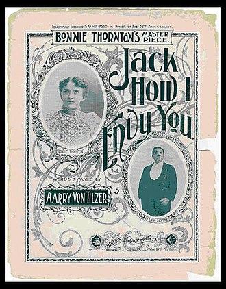 Tony Pastor - Tony Pastor and Bonnie Thornton (circa 1897)