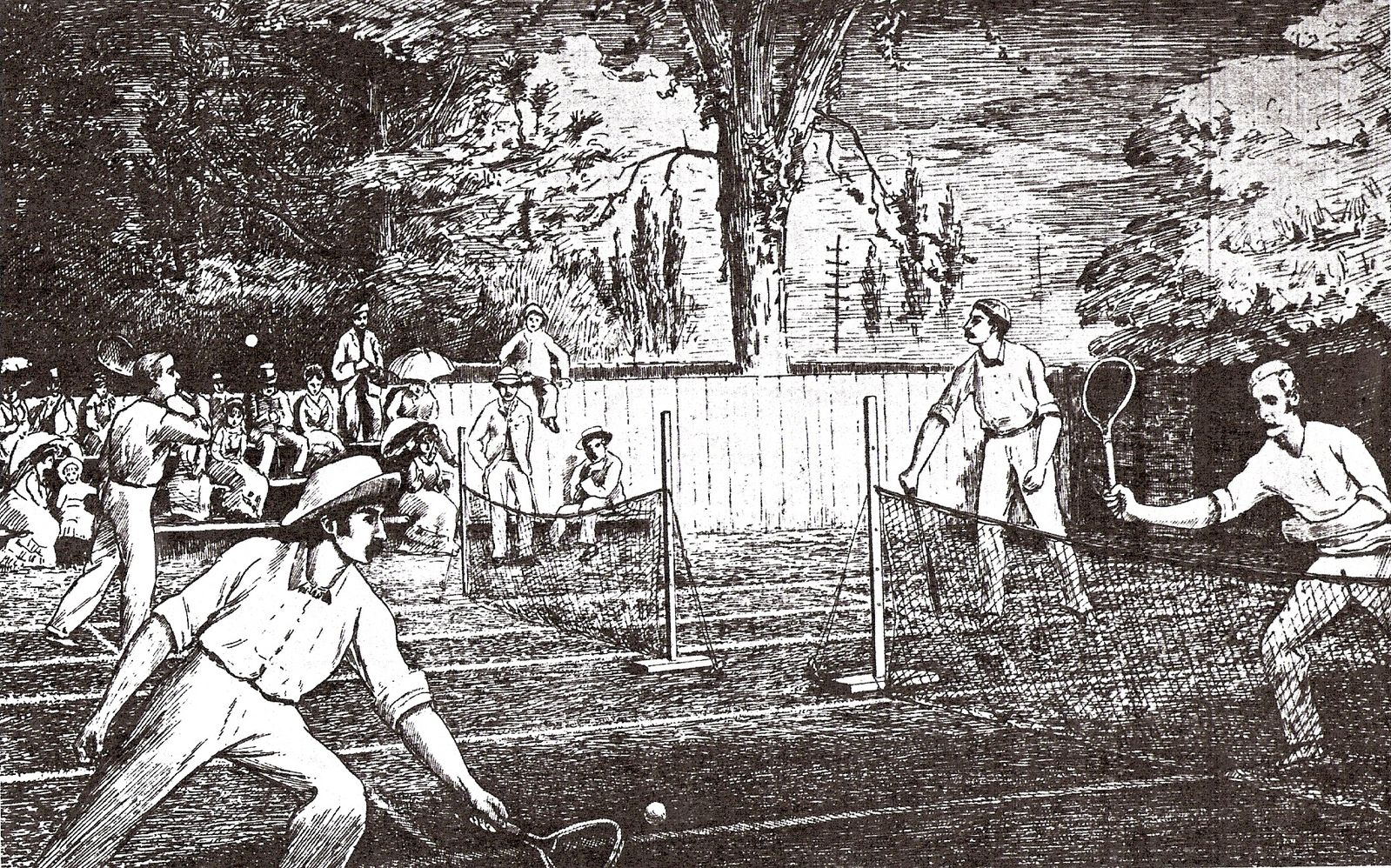 the history of tennis Fun fact, the early forms of tennis is not how the modern day game of tennis is played so, with that in mind, here is more on the history of tennis.