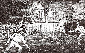 История тенниса Википедия Теннисный турнир в Торонто 1881 год