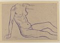 Torso of a Seated Nude, Facing Right (Study for Monument to Paul Cézanne) MET 1984.433.250.jpg