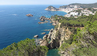 Mediterranean climate - The coastal Mediterranean region of Costa Brava, Spain