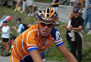 Team LottoNL–Jumbo - Erik Dekker at the 2005 Tour de France