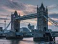 Tower Bridge at dusk (10029148934).jpg