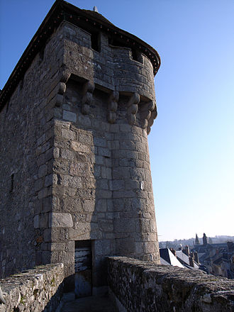 La Souterraine - The tower of St.Jean's gate