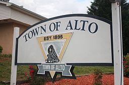Town of Alto sign.JPG