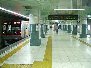 Tōyō-Katsutadai Station - Tōyō-Katsutadai platform