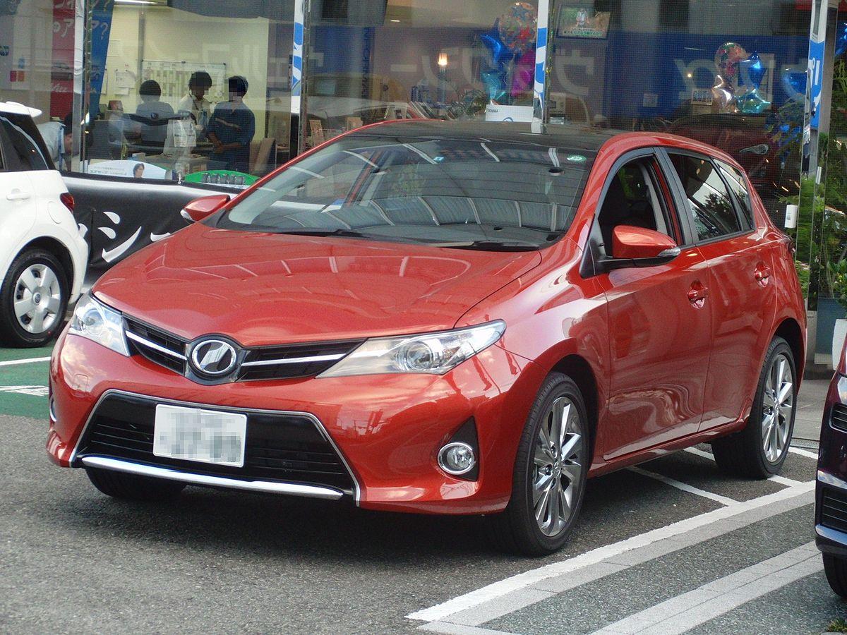 Toyota Auris Википедия