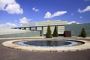 Toyota Municipal Museum of Art, Kozakahon-machi Toyota 2012.JPG