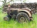 Tracteur de la Société Française de Vierzon-dans son jus-à Châtellenot-02.jpg