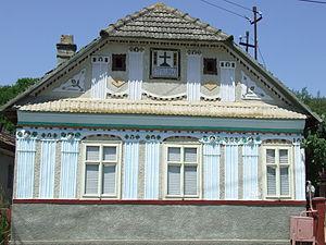 Țaga - Image: Traditional House in Taga, Cluj County