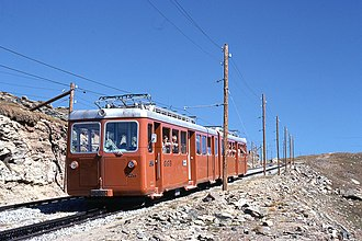 Gornergrat Railway - Image: Trains du Gornergrat 4