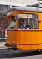 Tram in Sofia near Central mineral bath 2012 PD 011.jpg