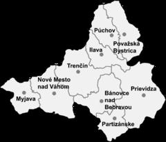 Plan kraju trenczyńskiego